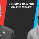 Where Hillary Clinton and Donald Trump stand on the major issues