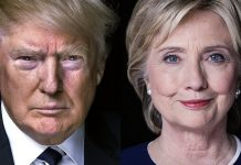 Hillary Clinton killing Donald Trump with Campaign Cash 2016 images
