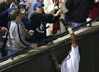 Steve Bartman World Series first pitch would be insane 2016 images
