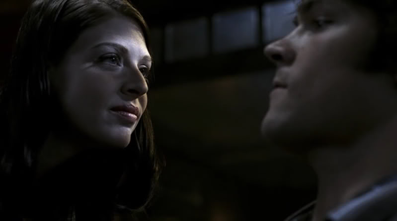 amber benson lenore in supernatural with jared padalecki