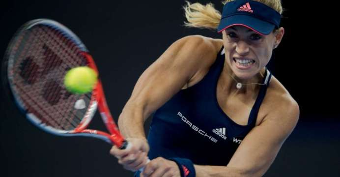 angelique kerber pushing through to wta tour finals