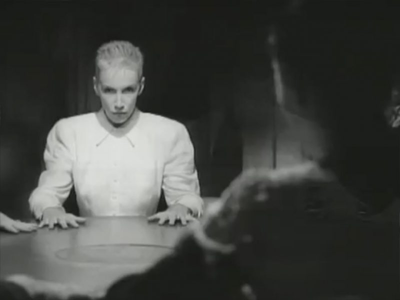 annie lennox mtv angel ban for seance scenes