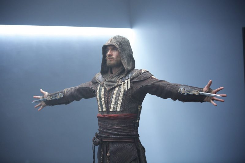 assassins creed movie image michael fassbender