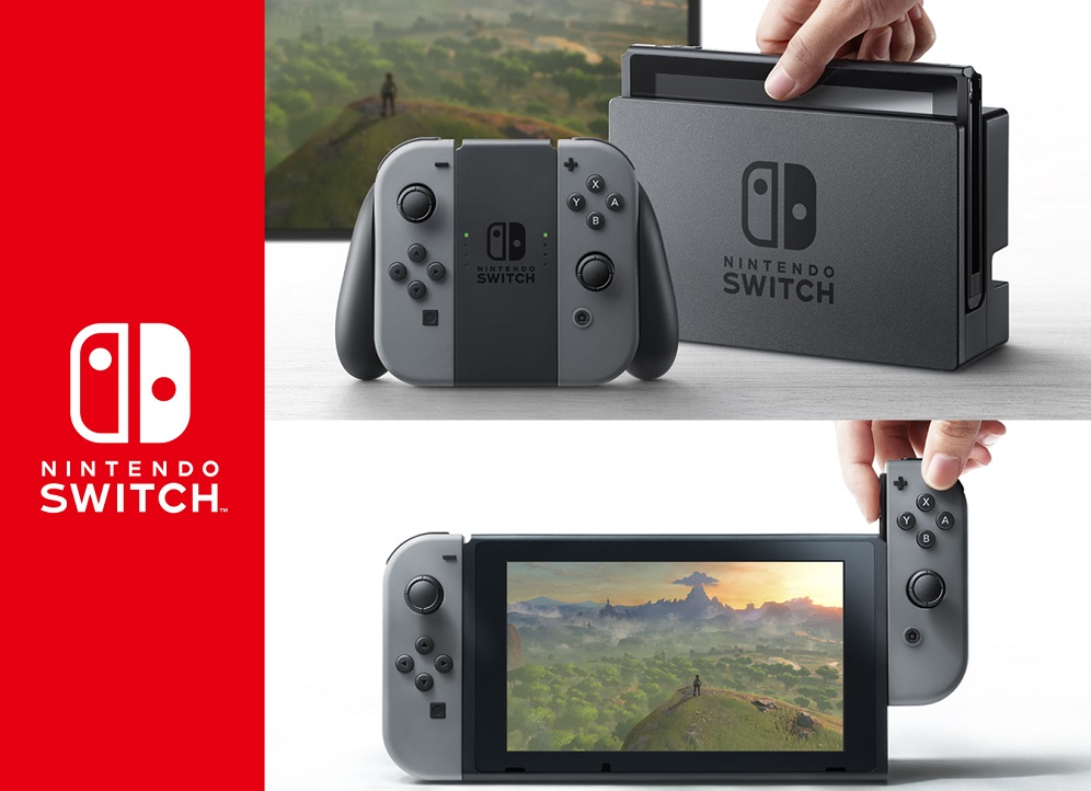 Behold, the Nintendo Switch has arrived 2016 images