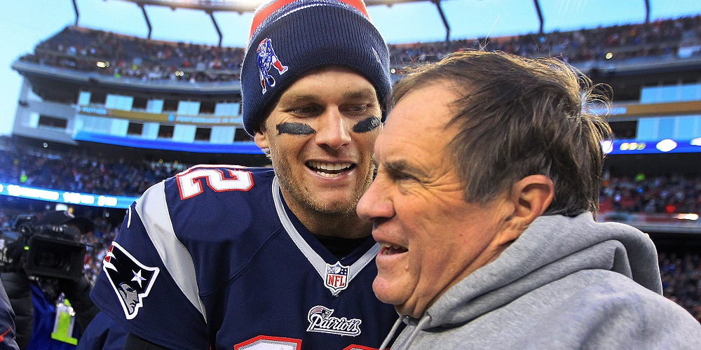 bill belichick relieved to have tom brady back on patriots after deflategate 2016 images