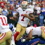 Bills smash 49ers 45-16 as Colin Kaepernick steps up