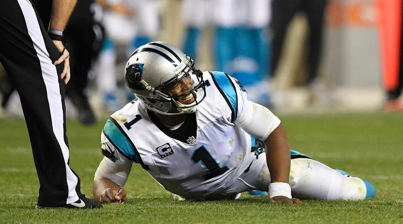 everyone agrees on cam newton concussion case 2016 images