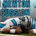 cam newton goes down again