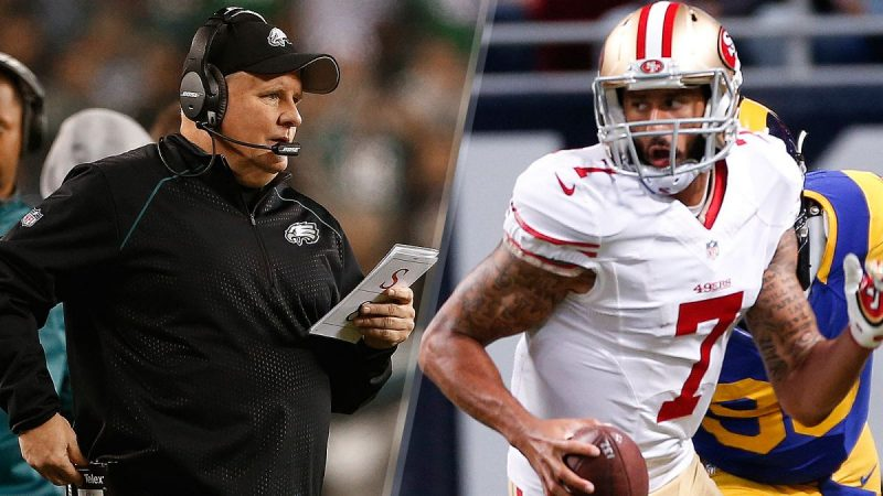 chip kelly and colin kaepernick 2016