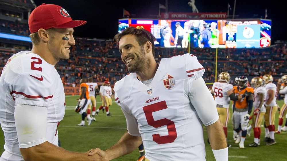 Chip Kelly quiet but 49ers want Christian Ponder to start Week 6 2016 images