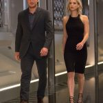 chris pratt suit with jennifer lawrence passengers