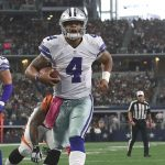 Dak Prescott continues leading Cowboys to victory with Tony Romo out