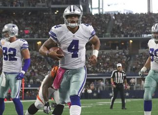 dak prescott continues leading cowboys to victory with tony romo out 2016 images