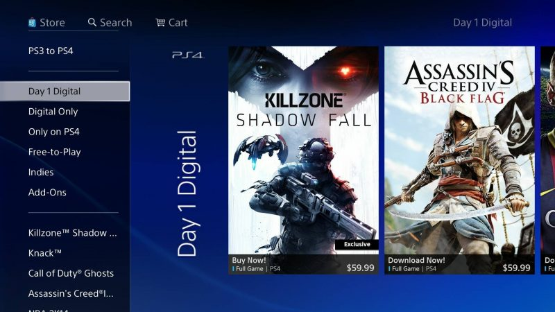 digital ps4 games via green man gaming