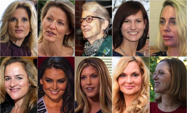 donad trump female accusors