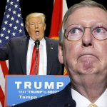 donald trump drives mitch mcconnell to deathly silence