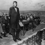 Donald Trump goes Gettysburg for hundred day plan