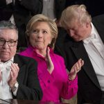 Donald Trump hits new low at Hillary Clinton dinner