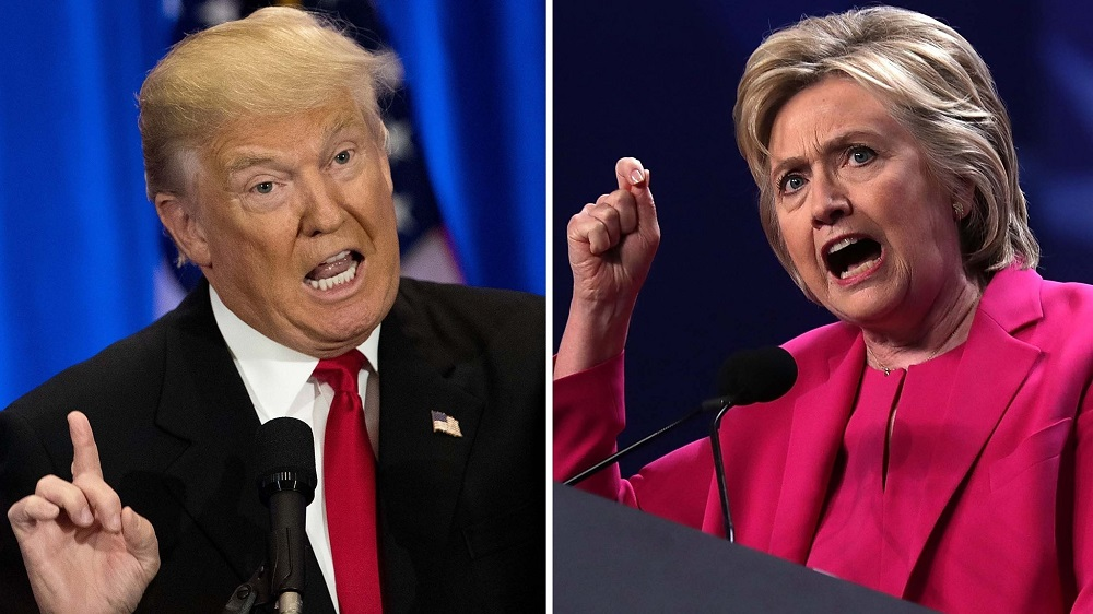 Donald Trump vs Hillary Clinton final debate before election 2016 images