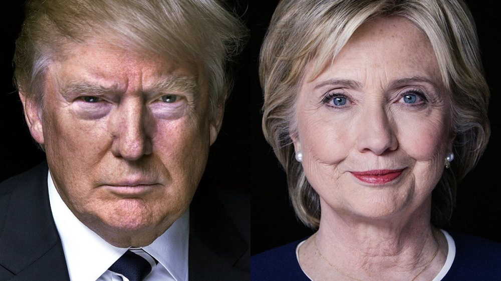 Donald Trump vs Hillary Clinton race now all about women 2016 images