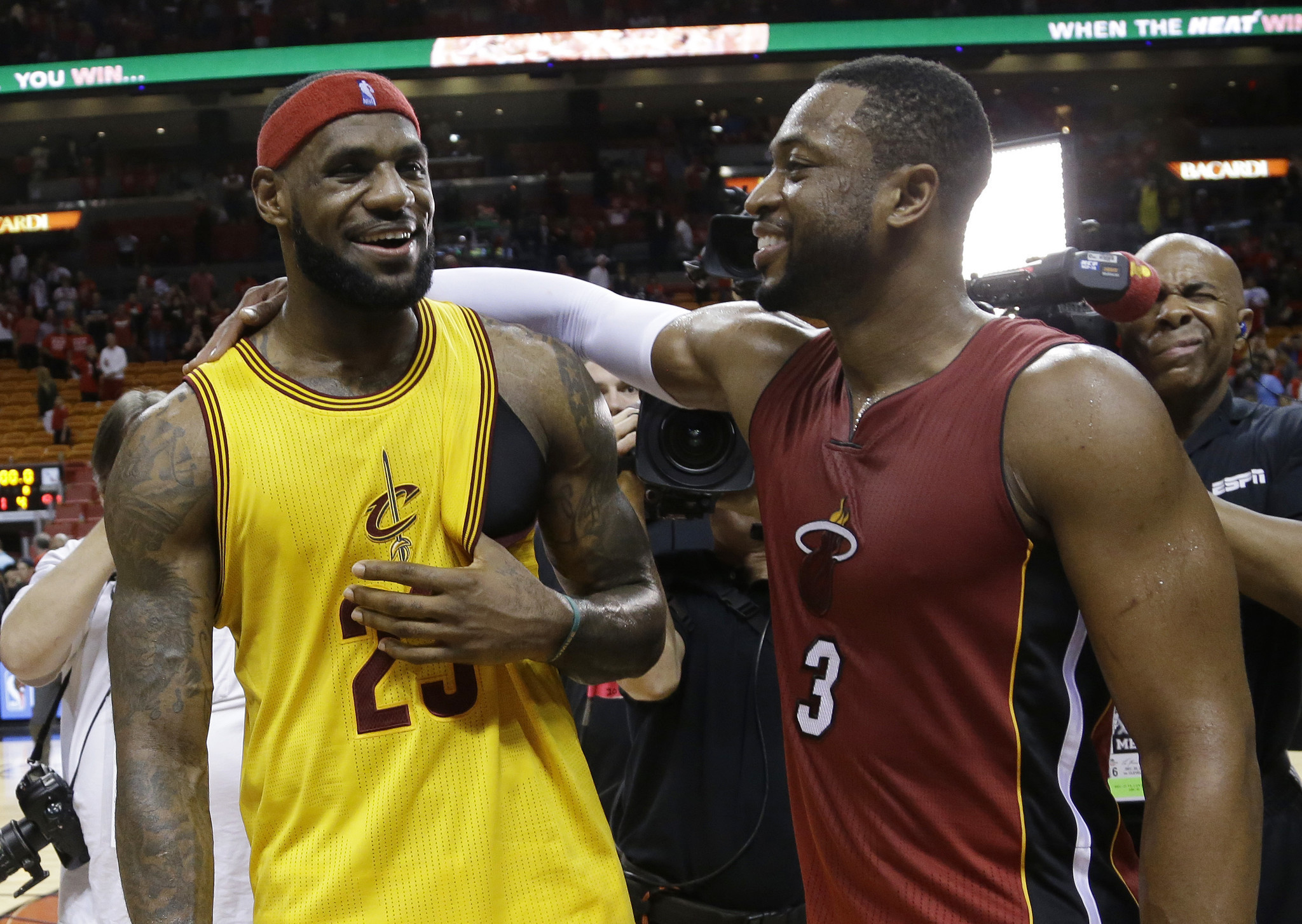 dwyane wade talks up super teams in nba