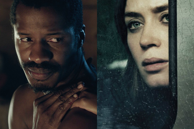 emily blunt girl on a train vs nate parker birth of a nation