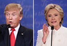 fact or fiction hillary clinton vs donald trump final debate 2016 images