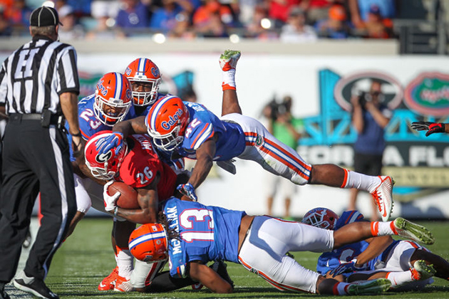 georgia bulldogs stomped by florida gators 2016