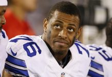 greg hardy leaves nfl field for mma ring 2016 images
