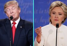 hillary clinton donald trump third debate most memorable moments 2016 images