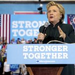 Hillary Clinton a strong leader in early voters
