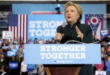 hillary clinton strong leader in early voters 2016 images