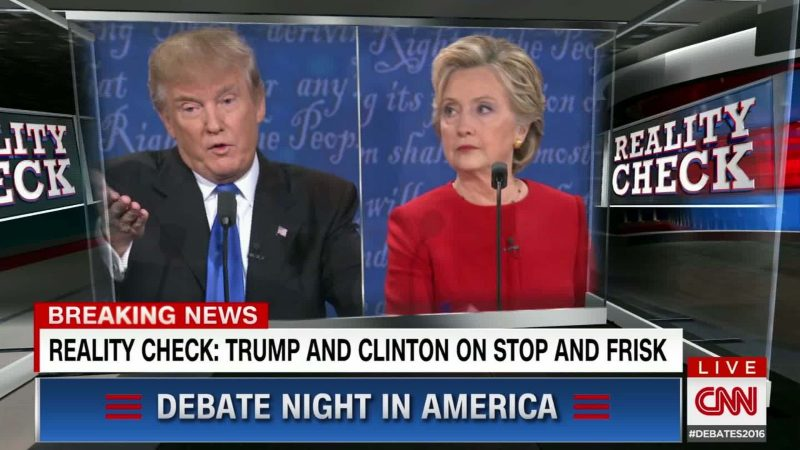 hillary clinton vs donald trump debate 2 fact check