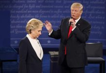 hillary clinton vs donald trump debate 2 review and fact checker 2016 images