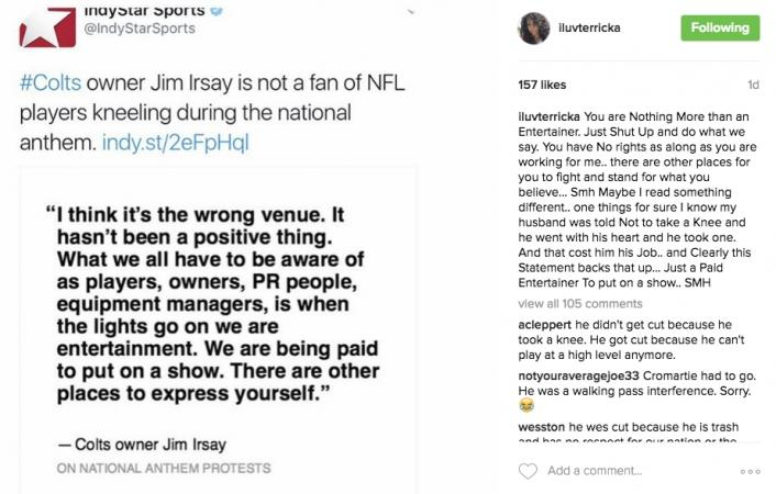jim irsay hated anthem protests