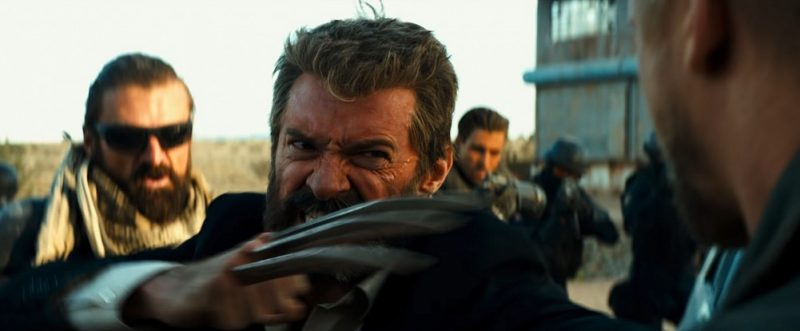 logan movie shots with hugh jackman