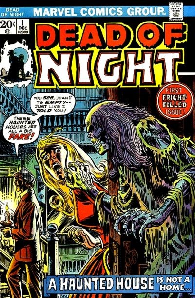 marvel dead of night comic