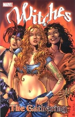marvel hot witches comics