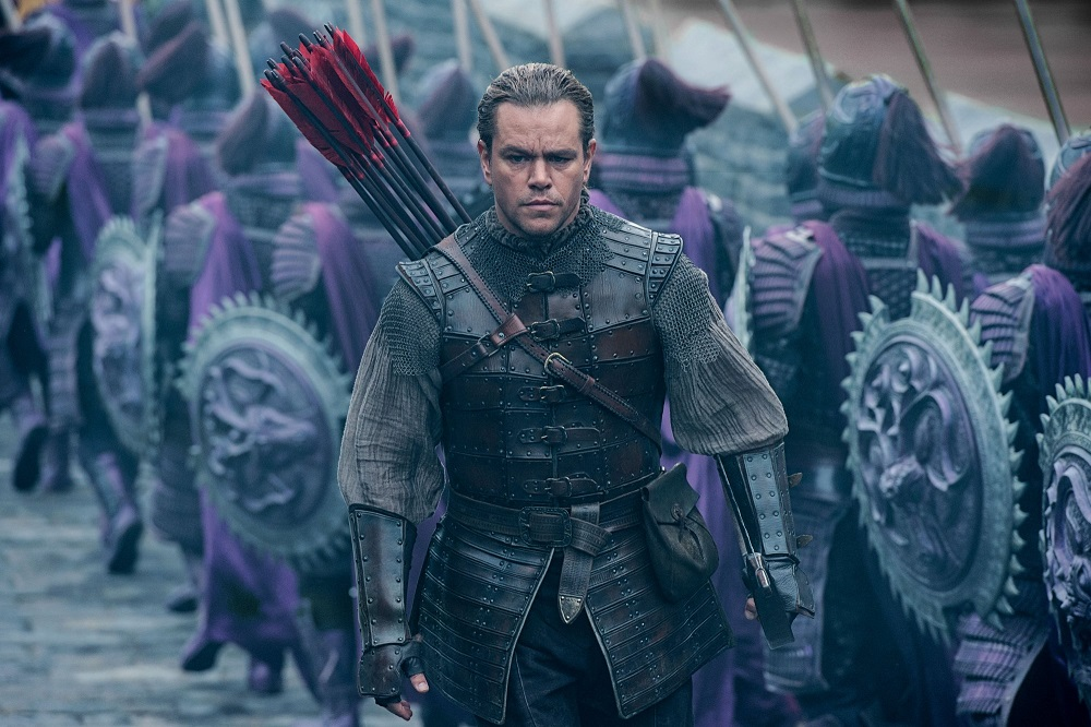 matt damon takes on the great wall whitewashing controversey 2016 images