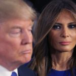 Melania Trump does her wifely duty for Donald