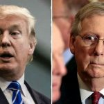 Senator Mitch McConnell does a Donald Trump blackout