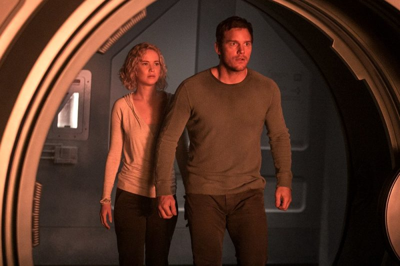New Chris Pratt and Jennifer Lawrence 'Passenger' spaceship images hit 2016 images