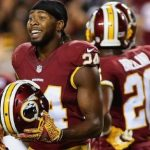 nfl celebration rules bring imaginary beer for josh norman
