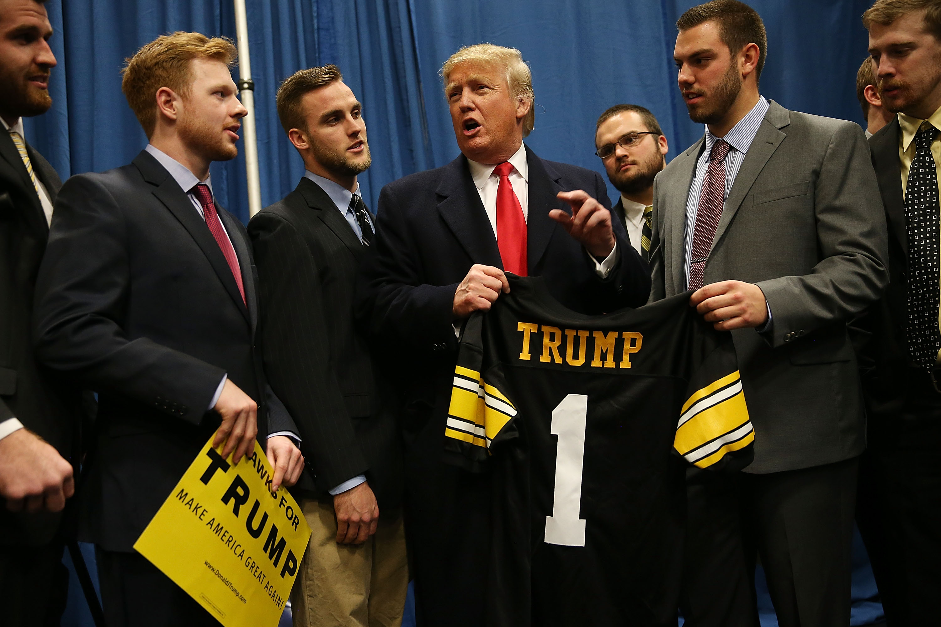 2016 presidential election just as divisive for nfl teams football images
