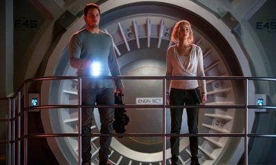 passengers movie chris pratt jennifer lawrence images