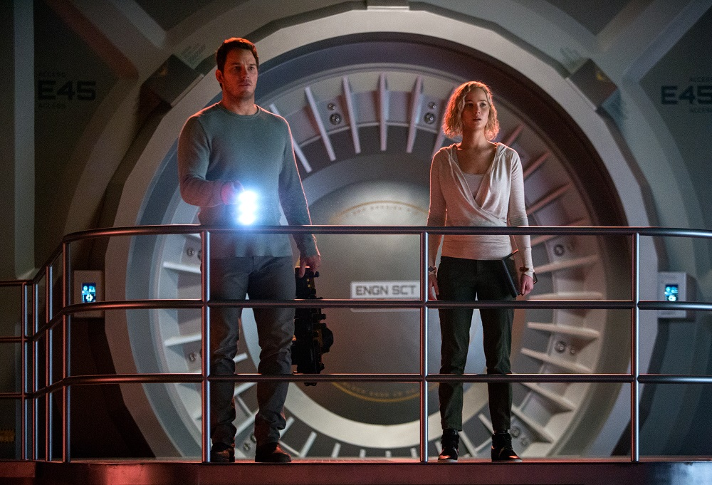 New chris pratt and jennifer lawrence 39 passenger for Passengers spaceship