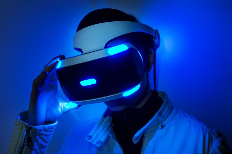 playstation vr in use