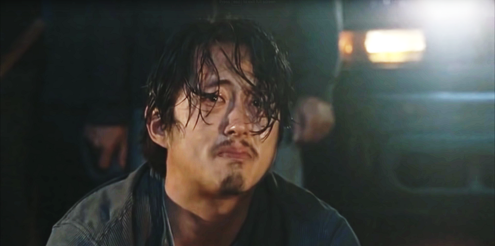 Ranking 'The Walking Dead' Glenn's last words in TV Land 2016 images