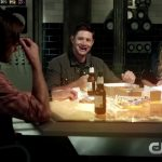 supernatural 1202 dean winchester eating pie