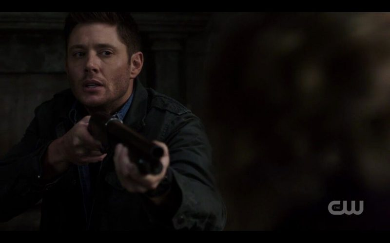supernatural foundry dean winchester with shotgun